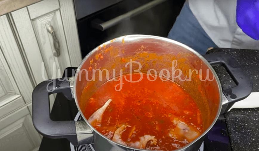 Скумбрия в томатном соусе - шаг 4
