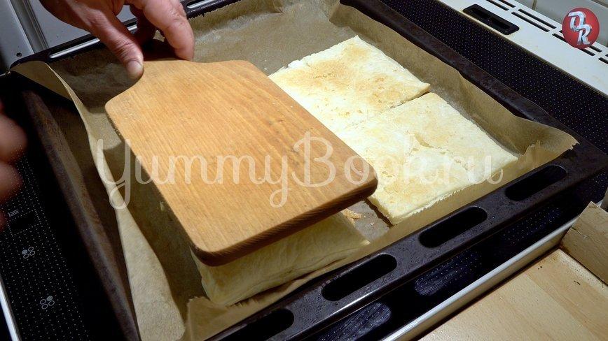 Торт Наполеон с кремом пломбир - шаг 3
