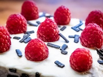 Торт Наполеон с кремом пломбир