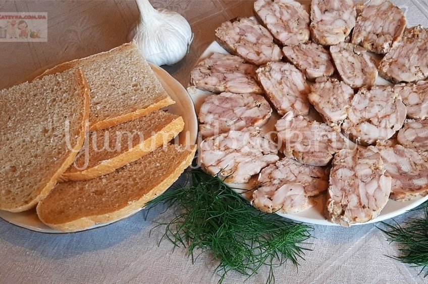 Куриная домашняя колбаса