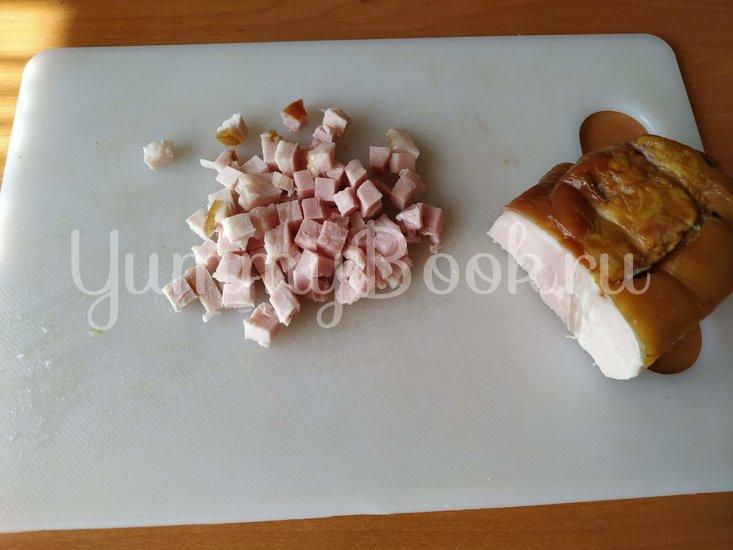 Картофельная бабка с беконом - шаг 3