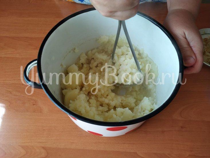 Картофельная бабка с беконом - шаг 1