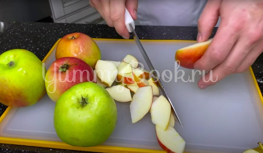 Яблочный пирог из маминой тетрадки - шаг 3
