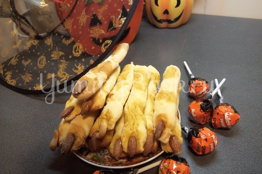 """Печенье """"Пальчики ведьмочки"""""""