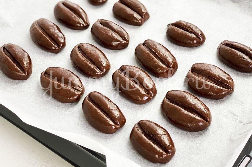 """Шоколадное печенье """"Кофейные зерна"""""""