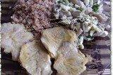 Вешенки . И салат грибной.