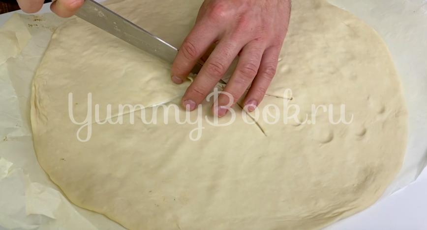 Дрожжевой пирог с мясом - шаг 3