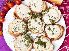 Намазка из шпротов на бутерброд