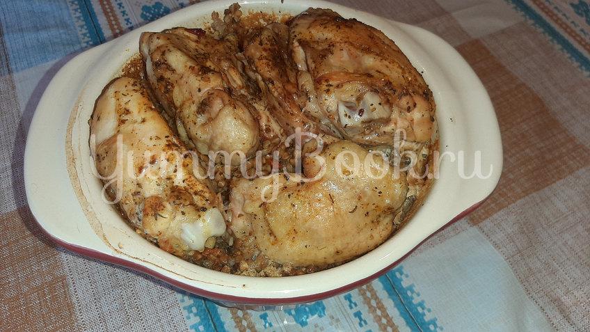 Гречка с куриными бёдрами в духовке - шаг 2