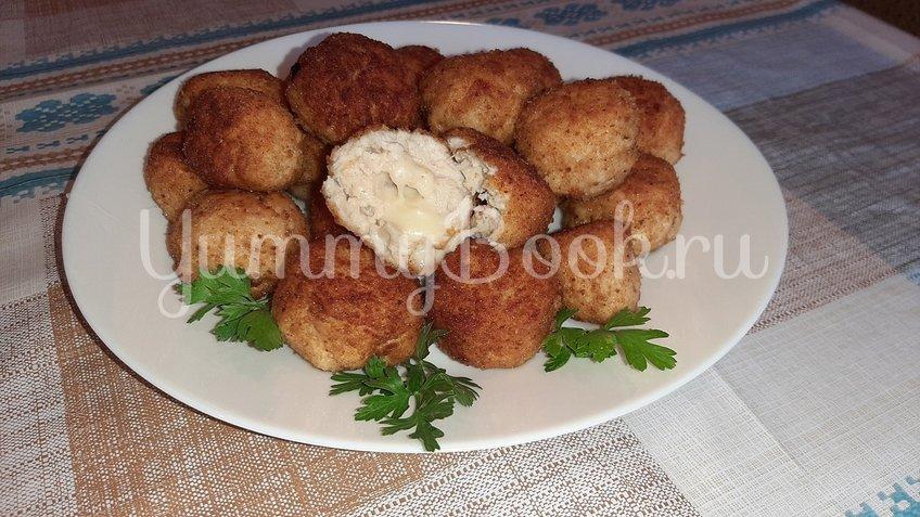 Куриные шарики с сыром Моцарелла - шаг 3