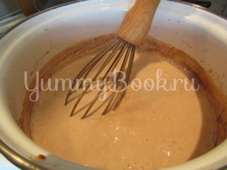 Шоколадно-кофейный десерт на агаре - шаг 1