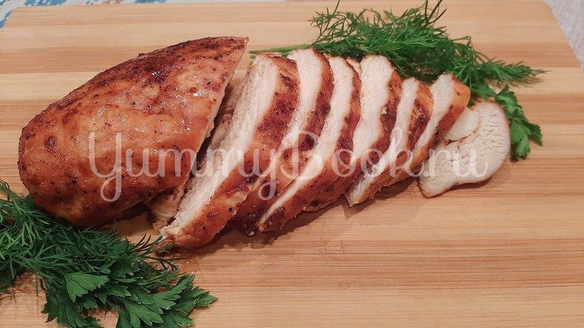 Куриное филе, запеченное в двух соусах в духовке - шаг 4