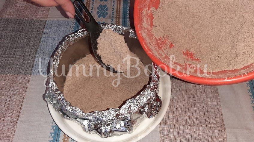 Шоколадно-творожный торт «Лентяй» - шаг 2