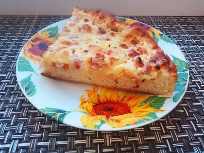 Белая пицца