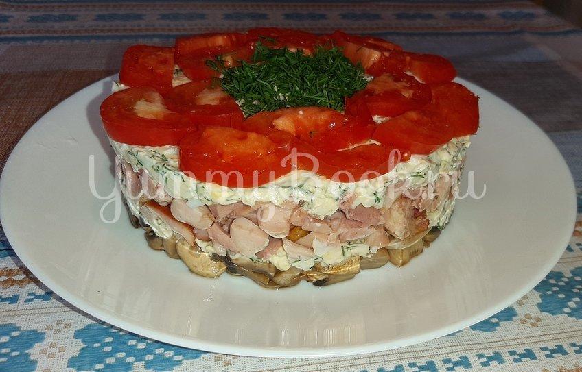 Слоеный салат «Любимый муж» - шаг 4