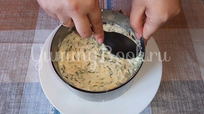 Слоеный салат «Любимый муж» - шаг 3
