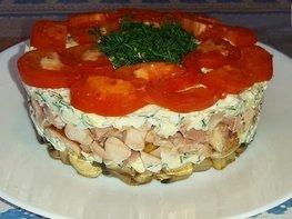 Слоеный салат «Любимый муж»