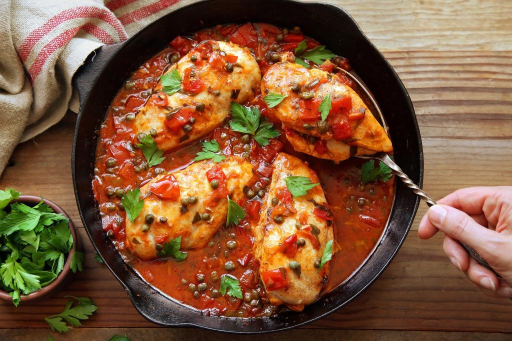 Рецепты вторых блюд из курицы с картинкой