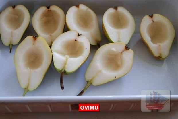 Паста с беконом и грушей, пошаговый рецепт с фото