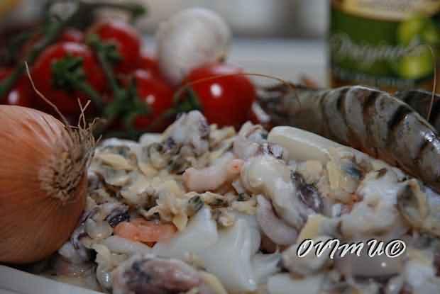 Ризотто с морепродуктами, пошаговый рецепт с фото