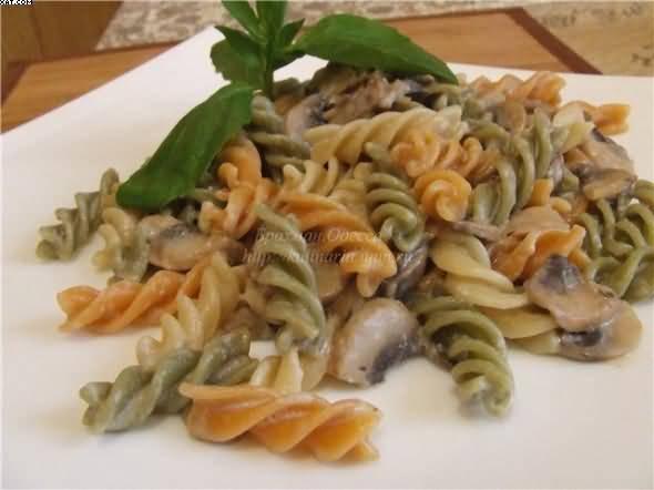 Кальмары с грибами и розмарином, пошаговый рецепт с фото