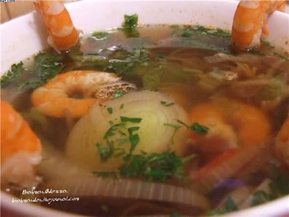 Темпура из креветок и овощей, пошаговый рецепт с фото