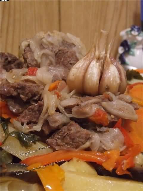Гювеч из креветок, пошаговый рецепт с фото