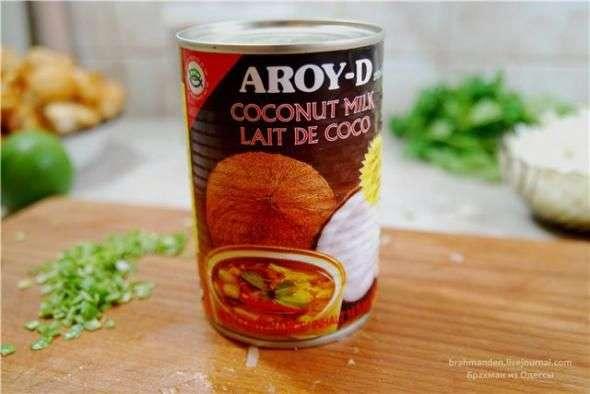 Зеленое тайское карри из курицы, пошаговый рецепт с фото
