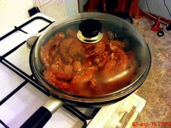 как приготовить куриные шейки на сковороде к пиву