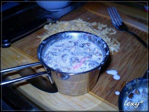 Рыбный жюльен, пошаговый рецепт с фото