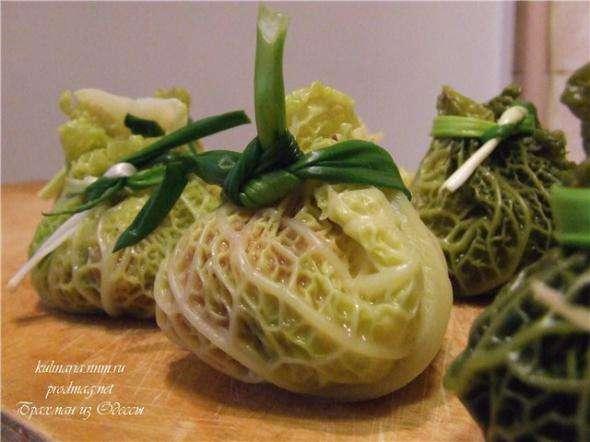 Рулеты из овощей и савойской капусты, пошаговый рецепт с фото