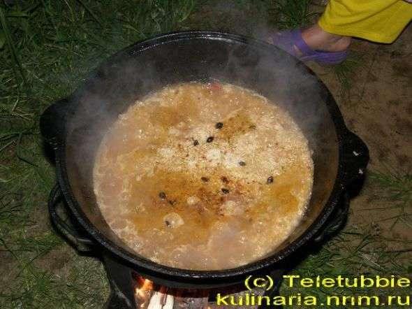 Вегетарианский плов с зирой, пошаговый рецепт с фото
