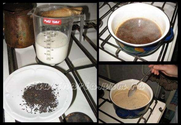 Мятный шоколадный чай, пошаговый рецепт с фото