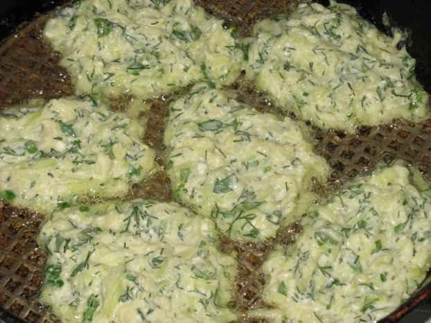 рецепт котлеты из кабачков с манкой рецепт