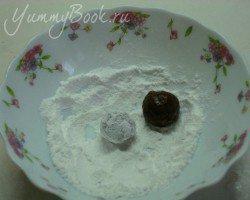 Шоколадное печенье Трещинки - шаг 3