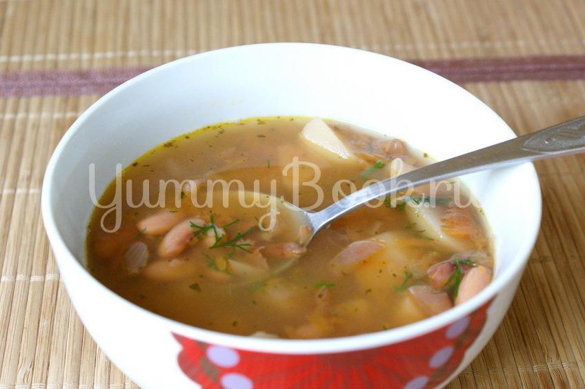 Рецепт Фасолевый суп в мультиварке