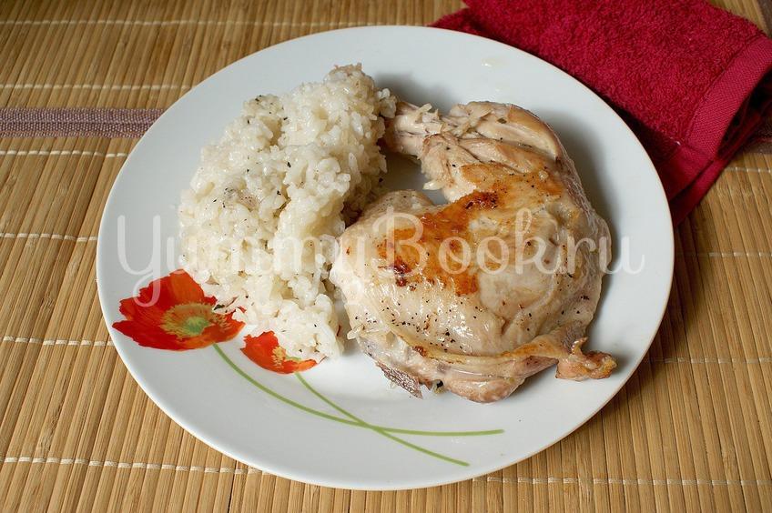 Куриные окорочка с рисом в пиве