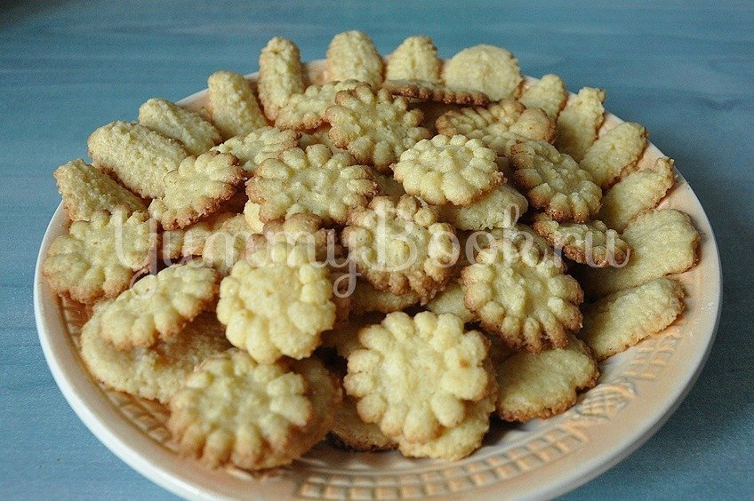 Рецепт Песочное печенье на майонезе