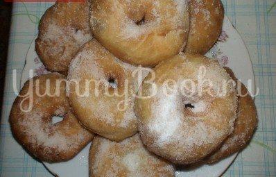 Пончики сахарные