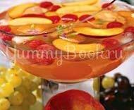 Рецепт Персиковый крюшон