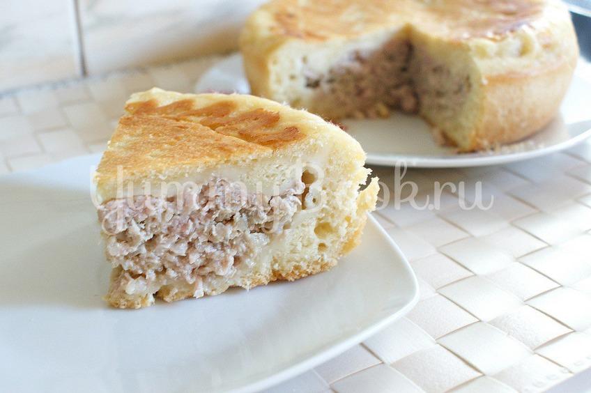 Рецепт Пирог с мясом в мультиварке