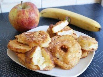 яблоки в тесте жареные рецепт с фото пошагово