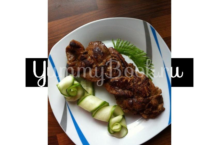 Мясные косички из маринованной свинины