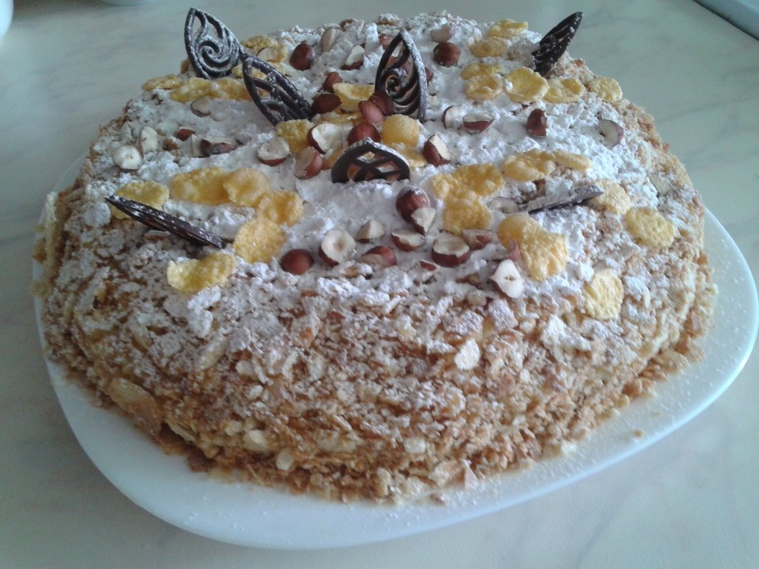 Торт наполеон рецепт без яйцо